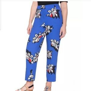 Eloquii floral ankle pant